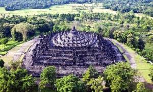 Magnificence of Borobudur Temple
